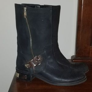 Vince Camuto Black Rider Boots